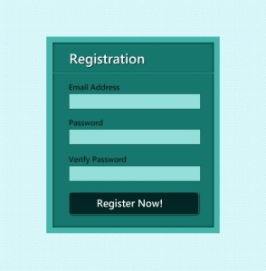 registration forms can be frustrating and make the user abandon his/her task.