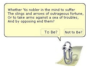 Clippy-Shakespeare